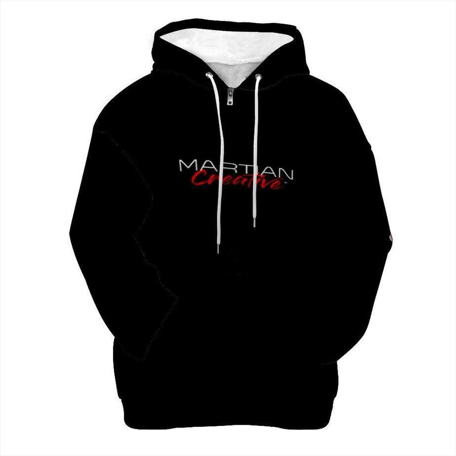 Martian Creative Premium Zip Hoodie