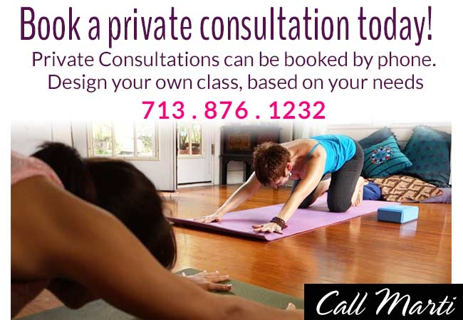 Marti Ewing Recuperative Yoga Houston