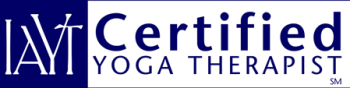 Marti Ewing is a certified Yoga Therapist -