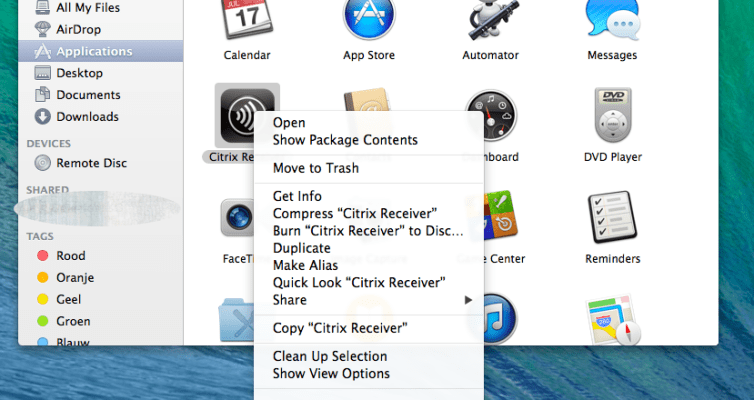 How to Fix unexpected disconnects with Citrix Receiver Mac OSX