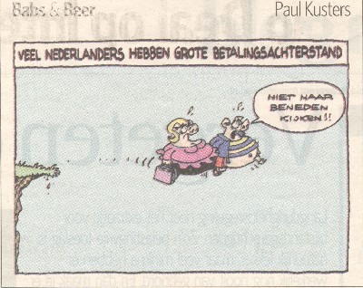 Veel Nederlanders hebben grote betalingsachterstand