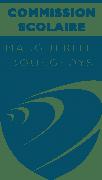 Logo transparent bleu grand format