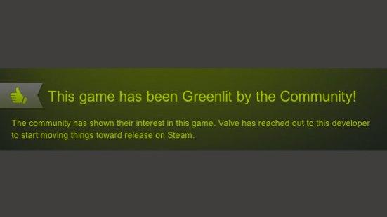 Steam Greenlit
