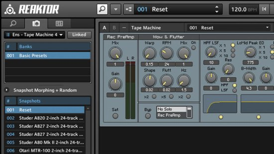 Reaktor Tape Machine