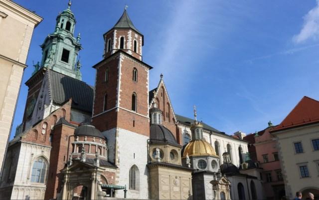 Hrad Wawel je bývalý Královský hrad z 11. století a patří k nejnavštěvovanějším památkám celého Polska.
