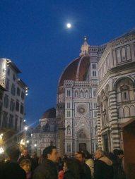 moon_Duomo by night