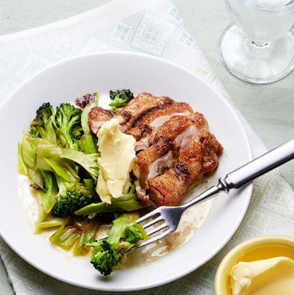 kycklingmåltid från dietdoctor