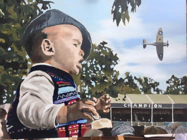 Goodwood Revival Spitfire