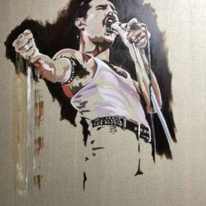 Bohiemian Rhapsody Freddie Mercury Art Painting