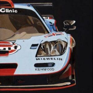 McLaren F1 GTR Longtail car Painting