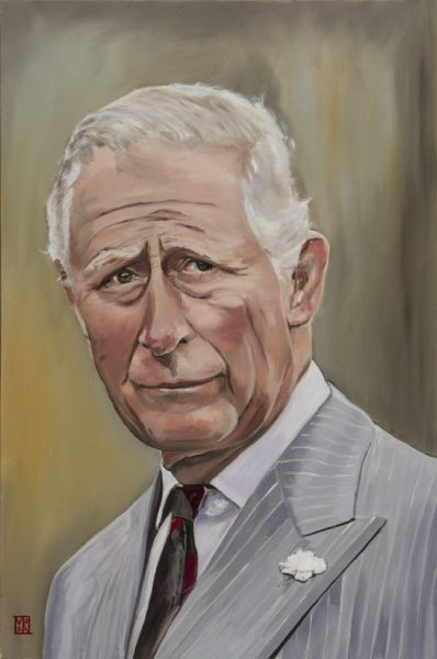Prince Charles Portrait Painting - The King and I