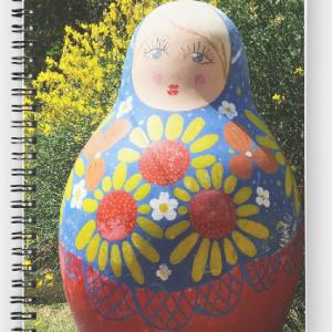 Giant Babushka doll