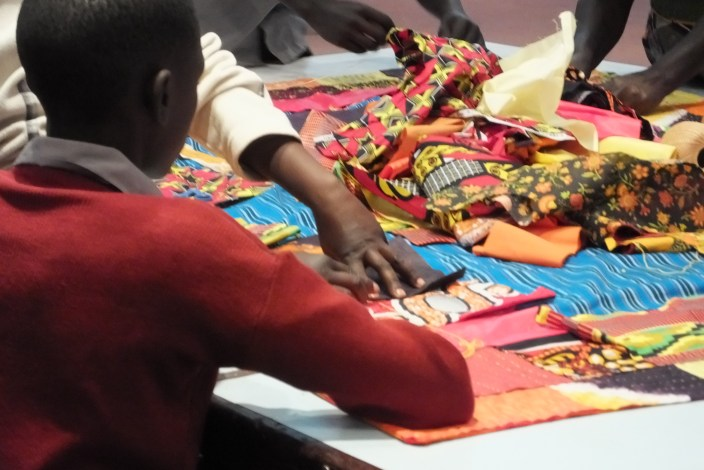 Kenya: community sewing circle