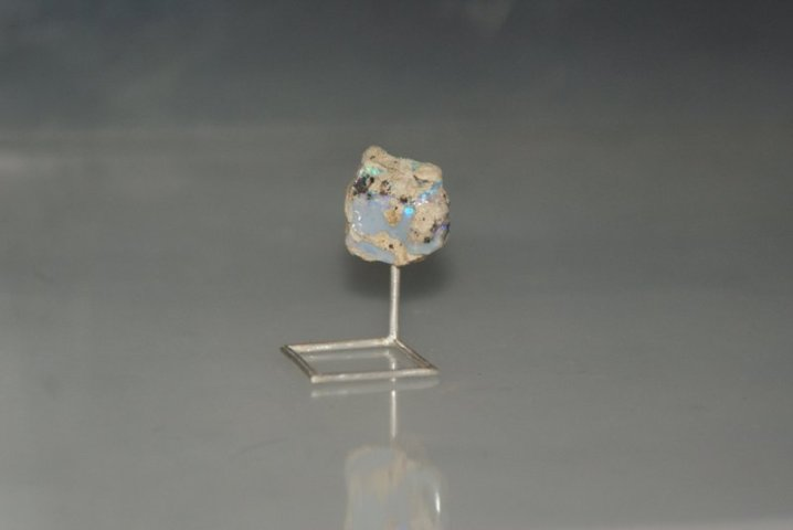 Ring. Silver, opal.