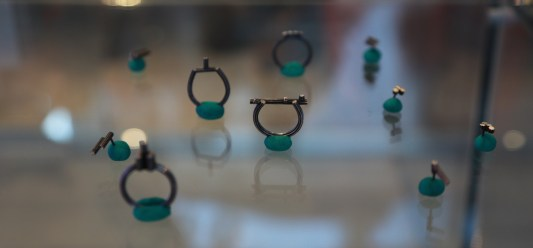 Rings. Oxidized silver. Pic by Pieter Kunnen