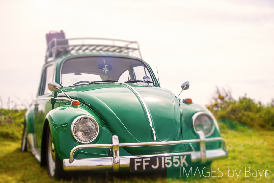 Image of Green VW Beetle