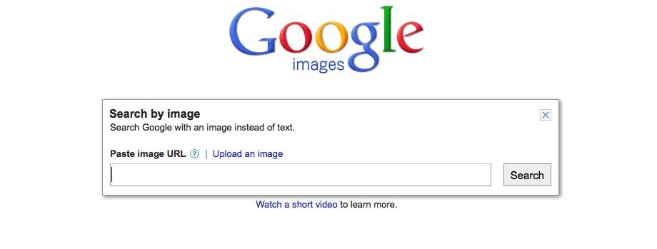 Google Images Search Screenshot