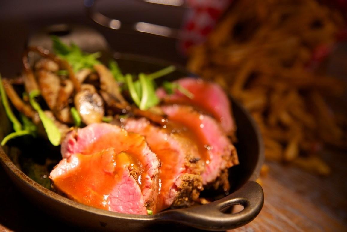 Client: OMGburger   Steak de filet d'épaule