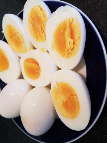 bolied eggs
