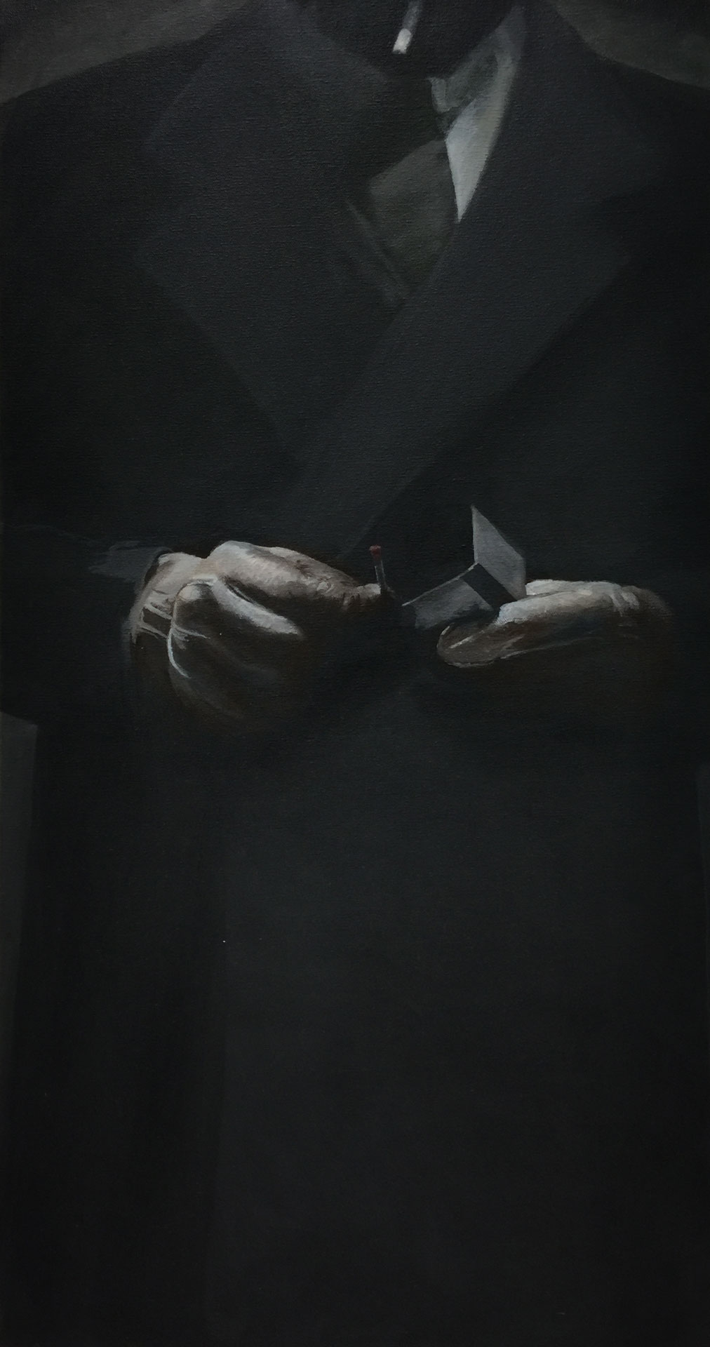 Martin Bruinsma Suit painting Gloves
