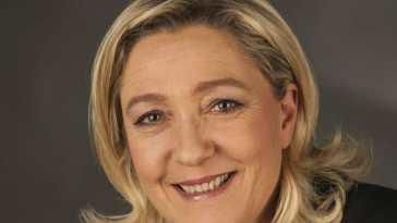 1Le Pen Marine 9586 Marine Le Pen: no a la educación gratuita para extranjeros