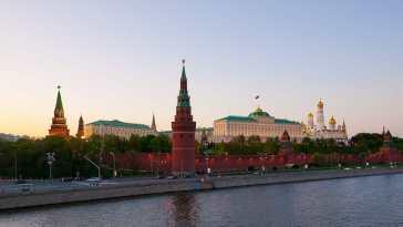 El Kremlin. Fuente: Wikipedia. Autor: Alexandergusev