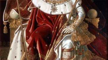 Ingres Napoleon on his Imperial throne Puzzle del Día: Napoleón en su trono imperial de Ingres