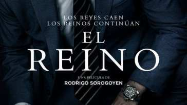 "Poster for the movie ""El reino"""