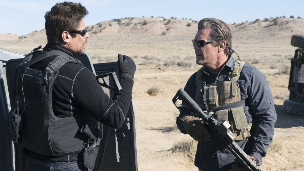 """Image from the movie """"Sicario: Día del soldado"""""""