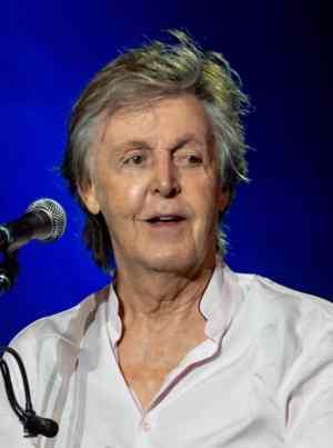 Paul McCartney in October 2018