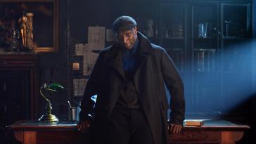 Omar Sy en Lupin (2021). Serie en Netflix