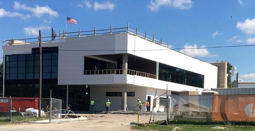FishTech Labs construction