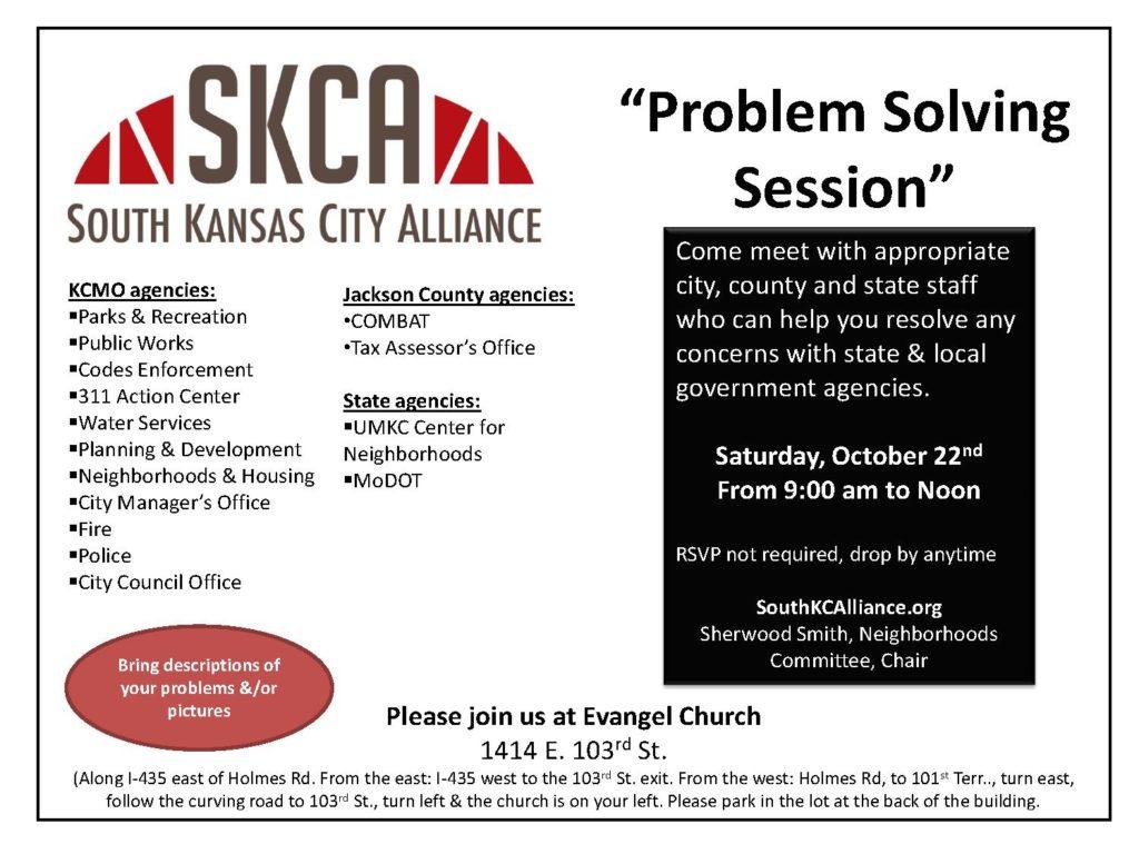 SKCA Problem Solving Event