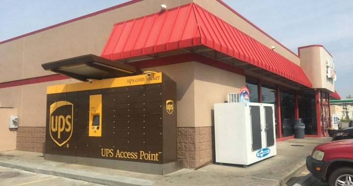 Red Bridge Gets UPS Delivery Lockers