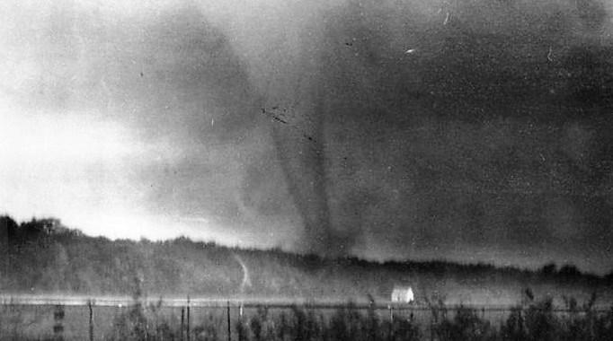 60 Years Ago Today, A Tornado Touched Down