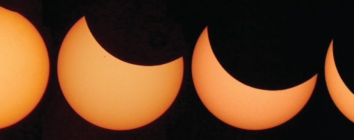 "The solar eclipse: ""spectacularly beautiful and rare"""