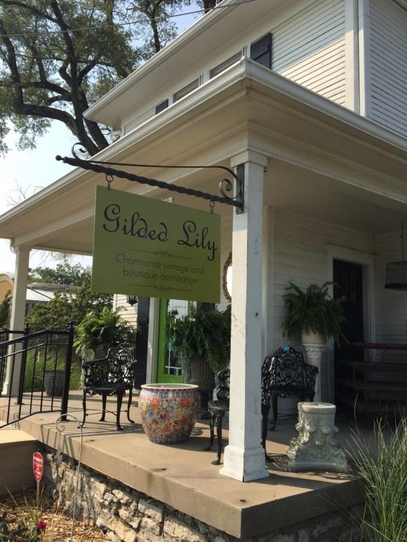Gilded Lily corner