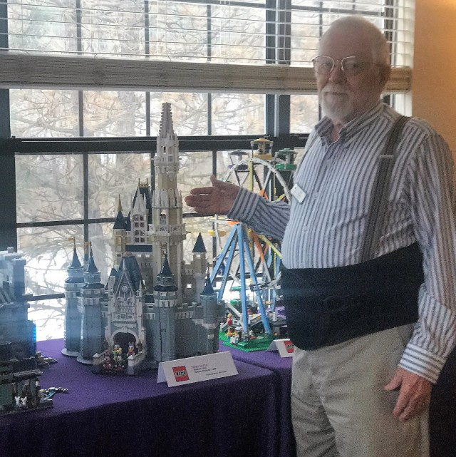 Bill Fields Disney Castle