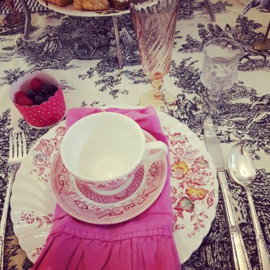 Gilded lily afternoon tea