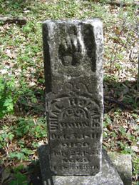Holmes gravesite