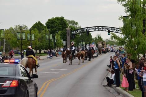 Grandview parade