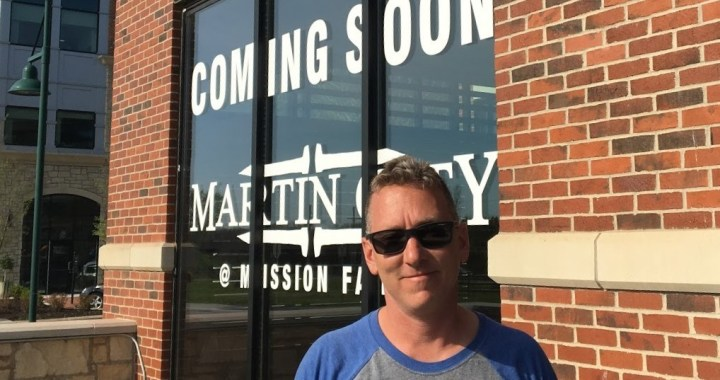 Keeping up with Martin City Brewing Company's Matt Moore can prove to be tiring