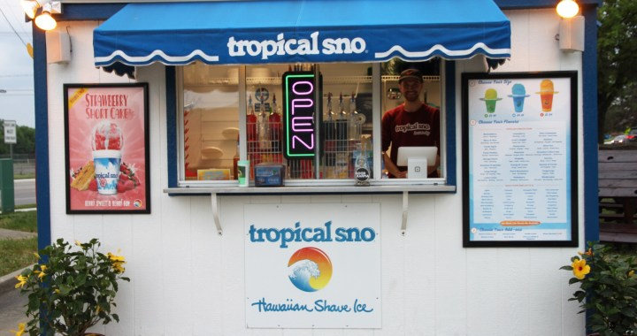 'Tis the Season to Think Snow, as in Tropical Sno