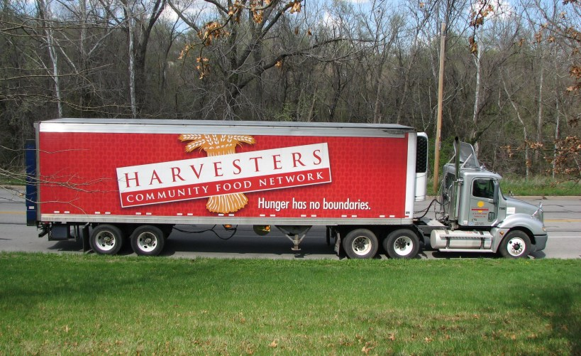 Harvesters mobile food pantry