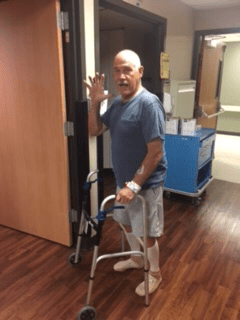 Colorado man comes to St. Joseph Medical Center for state-of-the-art knee replacement technology