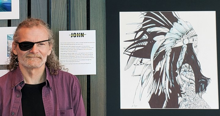 Homeless artists have works displayed at Museum at Prairie Fire