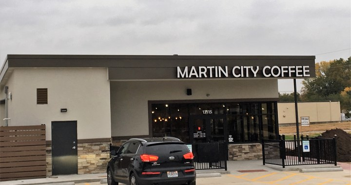 The wait is over. Martin City Coffee opens for business.