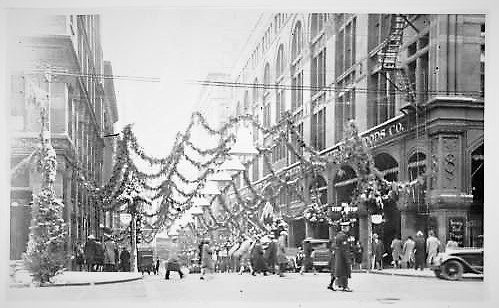 During Christmas, Kansas City's Petticoat Lane was once the place to shop