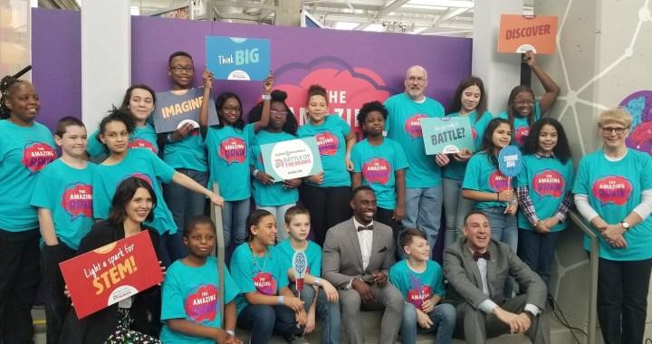 Grandview's FOCUS team honored for Amazing Brain Exhibit at Science City