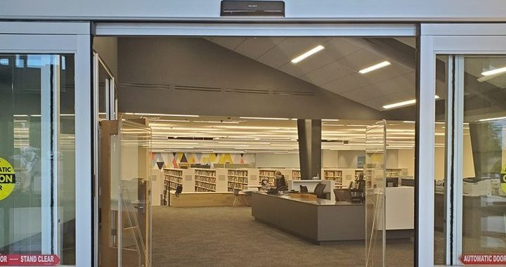 Red Bridge Library will soon reveal new facility